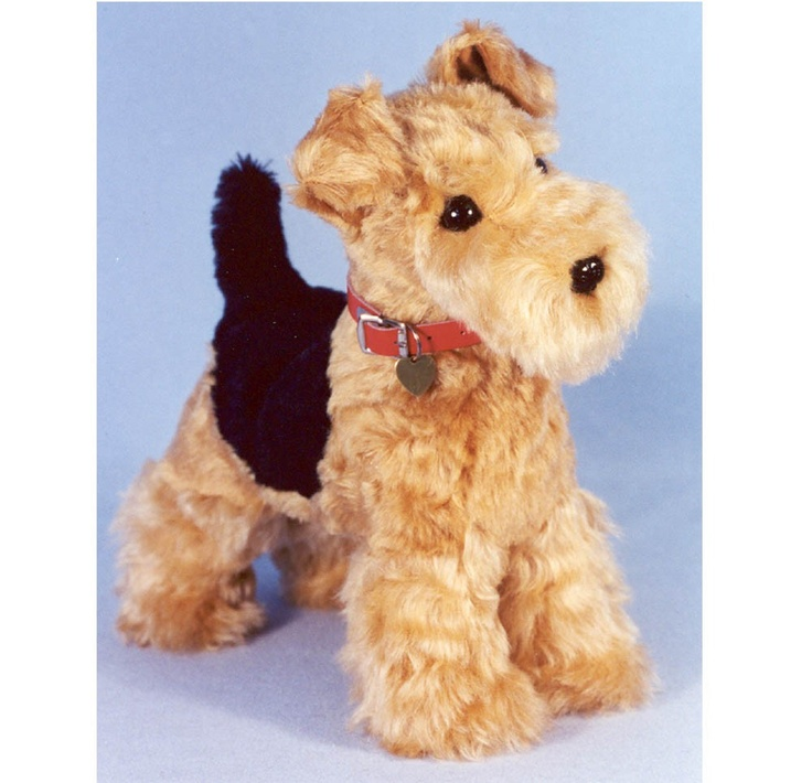"""Airedale Sewing Pattern 11 inch Welsh Terrier Dog """"Charlie"""". $9.00, via Etsy."""