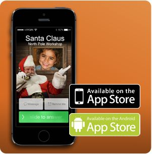 Download our new FREE Phone Call from Santa app and have Santa call your child! Select a unique message and choose the date and time of the call. Customize the call to mention your child's name, age, state, country, and more.