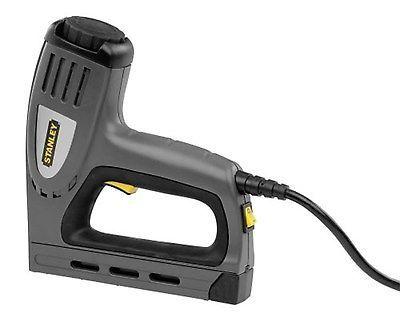 Electric Staple Brad Nail Gun Heavy Duty Stapler Nailer Finishing Tool Hammer