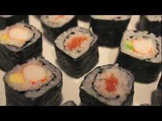 ▶ Cómo hacer sushi casero fácil - Receta para preparar el arroz incluida - YouTube
