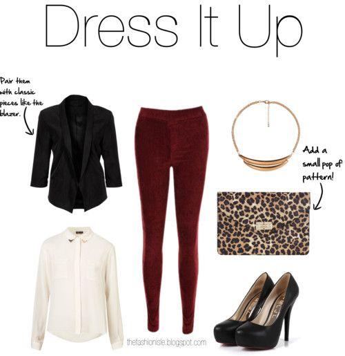 How To Wear Burgundy Velvet Pants (1)