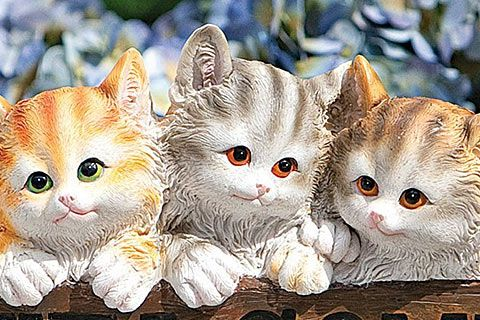 24 Cat Garden Statues for a Purrific Garden and Lawn this Summer | Pictures of Cats, Cat Pictures