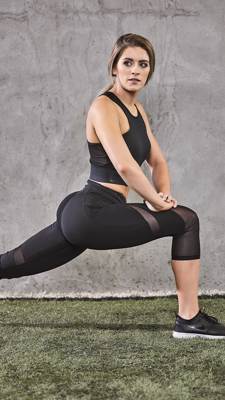 Lunge into your workouts with Whitney Simmons. #Gymshark # ...