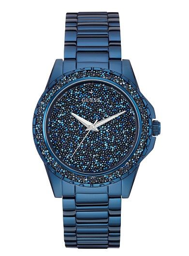 Womens Watches Online   Moonlit In Blue With Glitz Dial   GUESS Australia Women's Jewelry - http://amzn.to/2j8unq8