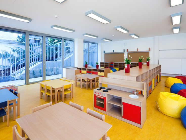 Implementation of interior of the kindergarten with French language teaching.