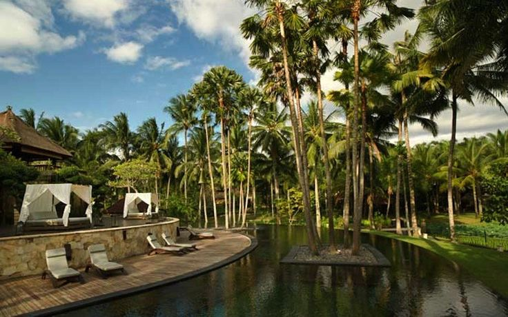 The Ubud Village Resort & Spa is set in landscaped tropical gardens & surrounded by picturesque rice fields.