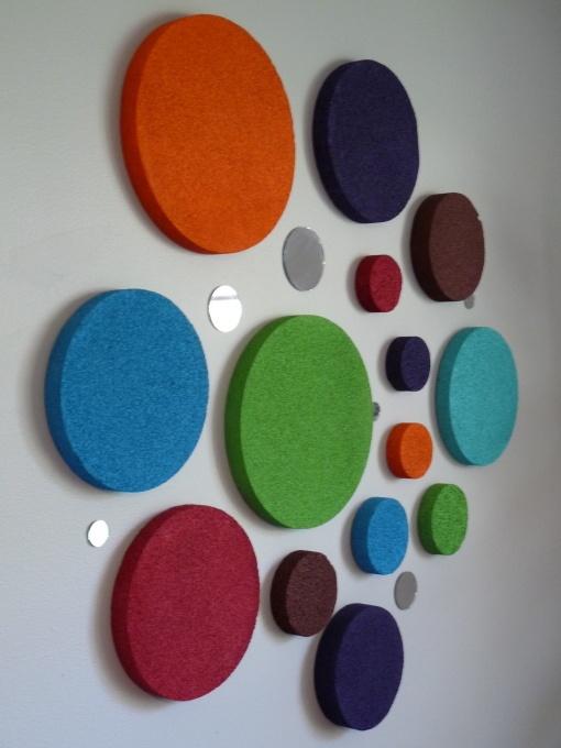 Polka dot decorations for the nursery                              …