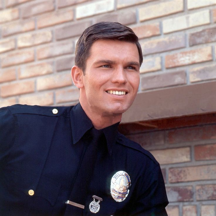 Kent McCord as Officer Jim Reed from 1970's TV show, Adam-12