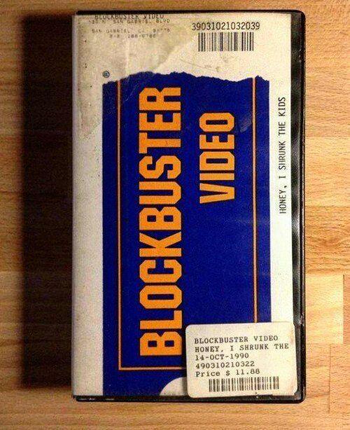 Before #NetflixandChill there was #BlockbusterNight. by iamnamrok