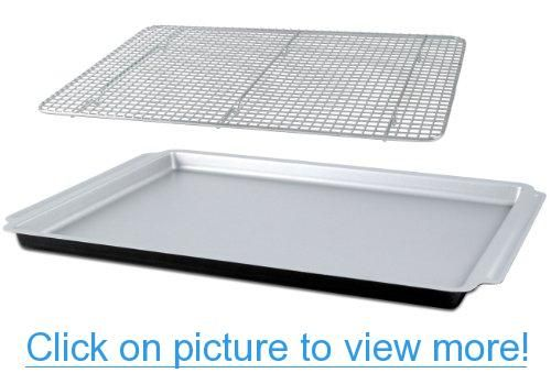 CIA Masters Collection Large Jelly Roll Pan and Cooling Rack