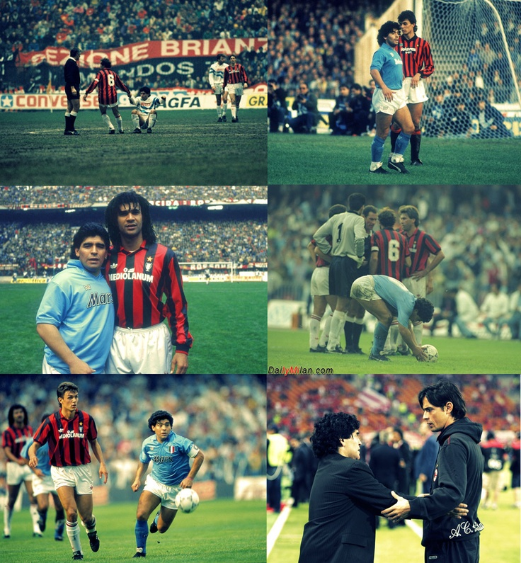 Maradona and Milan