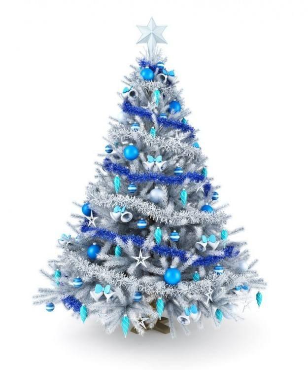 Decorationbylilyblanche Decorationchambre Decorationchristmastime Silver Holiday Decor Blue Christmas Tree Silver Christmas Tree Decorations