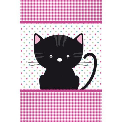 Ręcznik kuchenny Lucky Black Cat