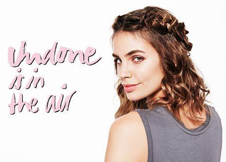 Lässige undone Looks sind wieder voll im Trend. Entdecke alle Produkte zum Hairstyle auf http://www.clickandcare.ch/haarpflege/schwarzkopf/osis-glamination