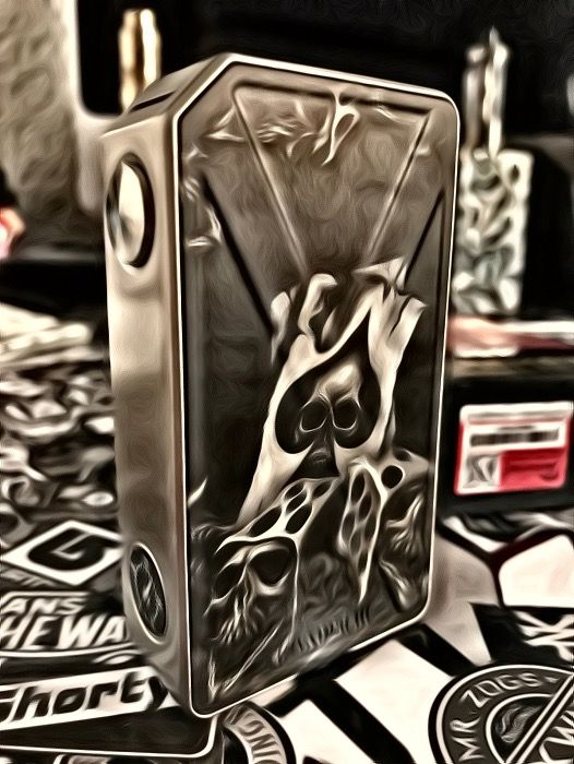 Tesla Invader 3 Hydrographic By me : Facebook : Vape Splash