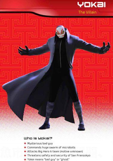 Yokai the man in the Kabuki mask