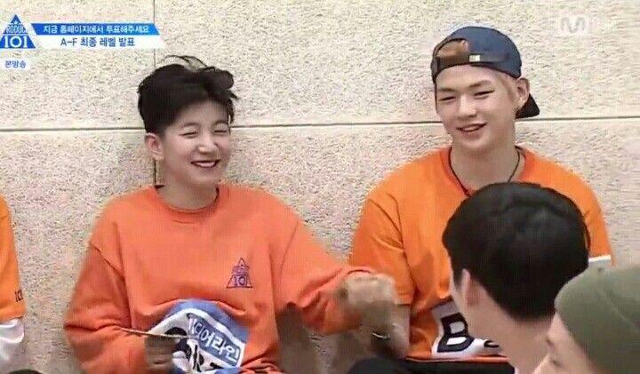 Woojin and daniel