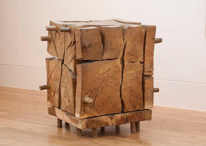 Выставка деревянных скульптур Дэвид Нэша в Кью Гарденс