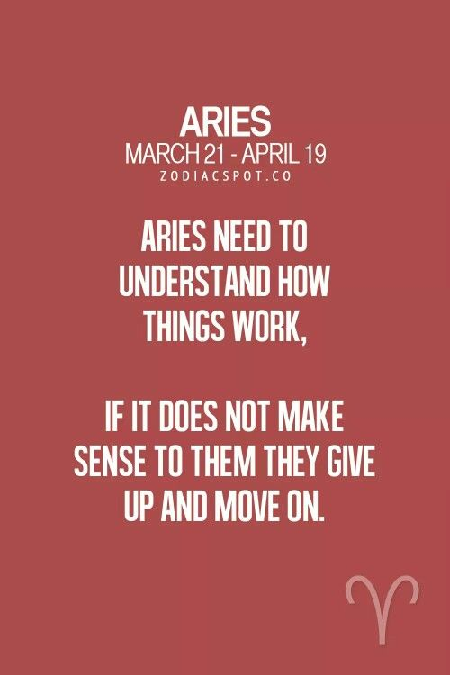 Gotta understand things