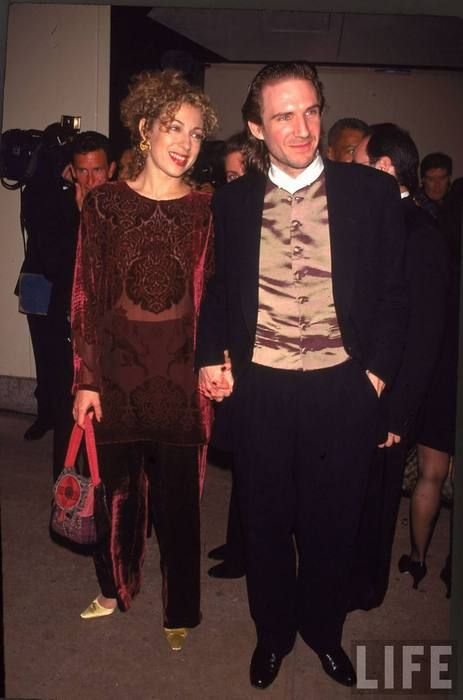 Ralph Fiennes And Alex Kingston M 1993 1997 Divoreced