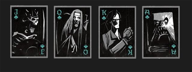 Army of Darkness cards - Derek Stratton