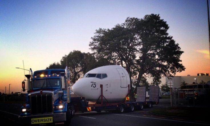 737 Nose Roadie #AirNZ75
