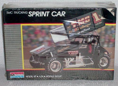 SEALED Monogram Model Kit 2776 TMC Sprint Car #1 Sammy Swindell1:24 MIB