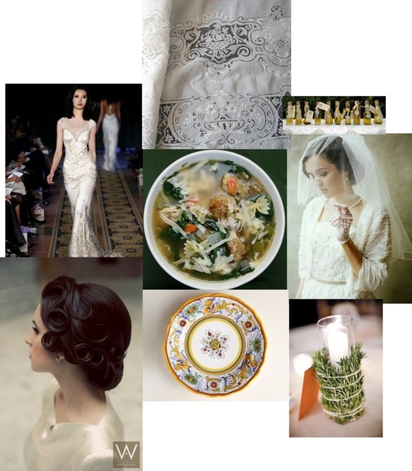 """Italian Wedding Theme"" by ooolalina on Polyvore"