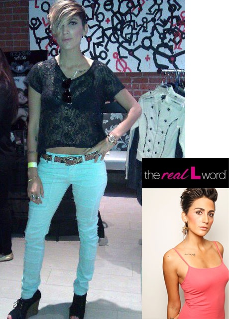 Reality television personality Romi Klinger in our Nopa Skinny.