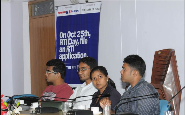 The YOUTH BRIGADE attending the RTI day workshop at IIM, Ranchi