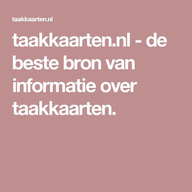 taakkaarten.nl-de beste bron van informatie over taakkaarten.