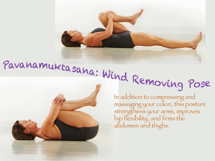 Bikram: Wind Removing Pose (Pavanamuktasana) | YOGA | Pinterest ...