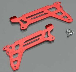 Traxxas Main Frame Side Plate Outer - DR-1 Red (2) by Traxxas. $6.26. Traxxas Main Frame Outer Side Plates (Red) for DR-1 Coaxial Dual Rotor Helicopter This is a pair of Traxxas Main Frame Outer Side Plates (Red) for the Traxxas DR-1 Coaxial Dual Rotor Helicopter. These stock replacement main frame outer side plates are made from lightweight, but durable aluminum and are anodized red. Includes right and left main frame outer side plates and mounting screws. Features: