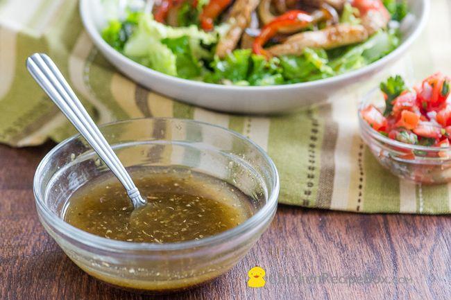 Chicken Fajita Salad Recipe from ChickenRecipeBox.com