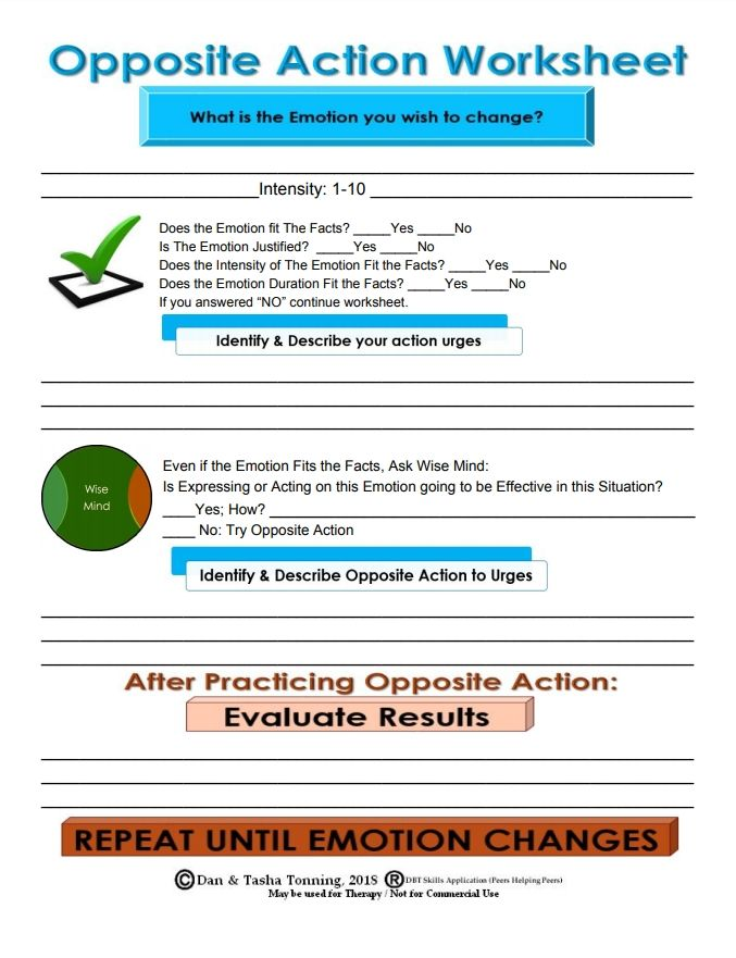 Dbt therapy Worksheets   Homedressage also The Emotion Wheel  What is It and How to Use it    PDF additionally opposite action   Tumblr besides Stephanie Hurlburt on Twitter   Hi o  please take your seats moreover Dialectical Behaviour Therapy moreover  besides Bullying and the Emotional Mind  Teaching DBT Skills to Foster likewise recognizing emotions worksheets also  furthermore Using Biosocial Theory as a Model for Agent Emotion as well Emotional Regulation the Best Worksheets Image Collection   Download as well Self Regulation Worksheets Therapy New Skill Goals Training in addition DBT Emotion Regulation Skills  Worksheet    The Aid further OPPOSITE ACTION WORKSHEET   DBT   Mindfulness activities  Dbt also Different Types Of Coping Skills Self Soothing Distraction Opposite together with Practice Worksheets On Sign Language Arts Daily Download Free. on opposite to emotion action worksheet