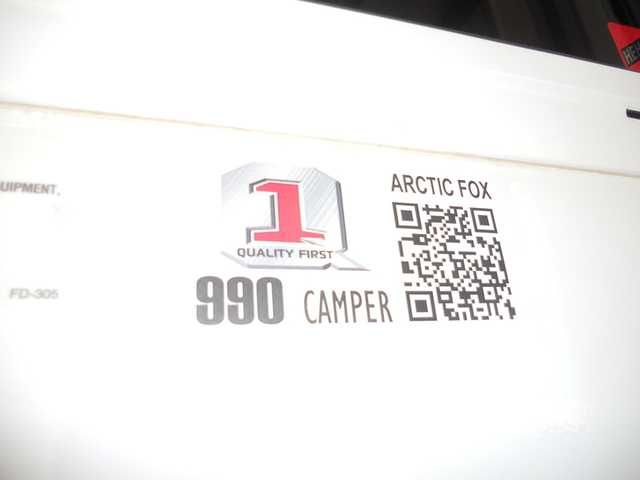 """2016 New Northwood Arctic Fox Campers 990 Wet Truck Camper in Oregon OR.Recreational Vehicle, rv, Southern Oregon's only """"full service"""" Dealership!! """"37"""" years in business, family owned and 3 generations strong... Experience the Adventure!"""