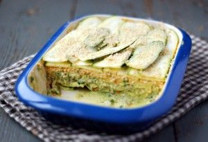 Raw Courgette Lasagna - Essential Vegan