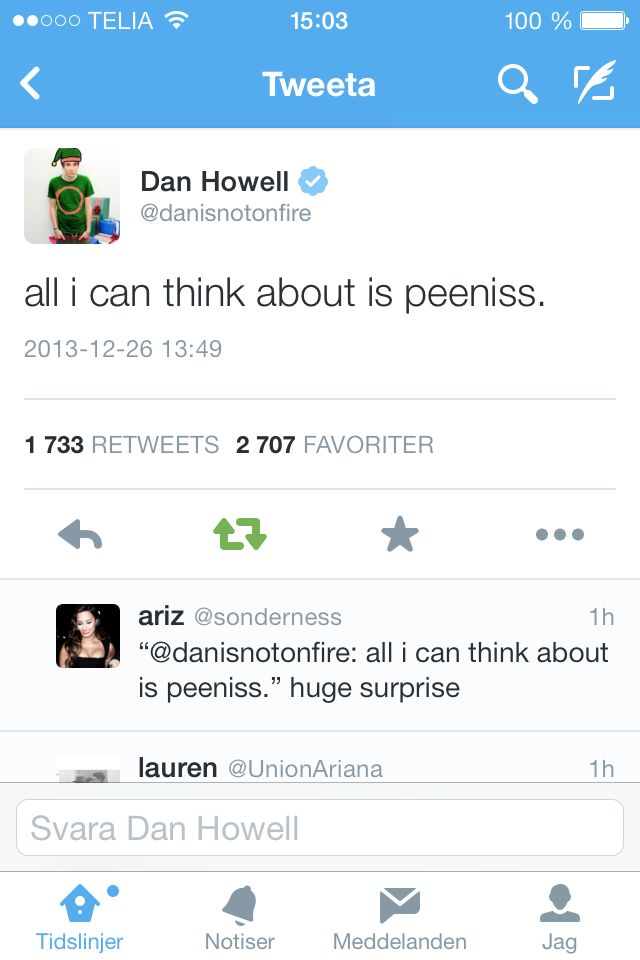 dan howell ✧ danisnotonfire