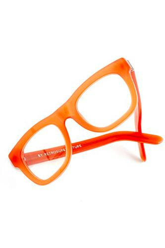 Channeling: Jenna Lyons' Eclectic-Elegant Style #refinery29  http://www.refinery29.com/jenna-lyons-style#slide14  Super Ciccio Eyeglasses, $154, available at Madewell.