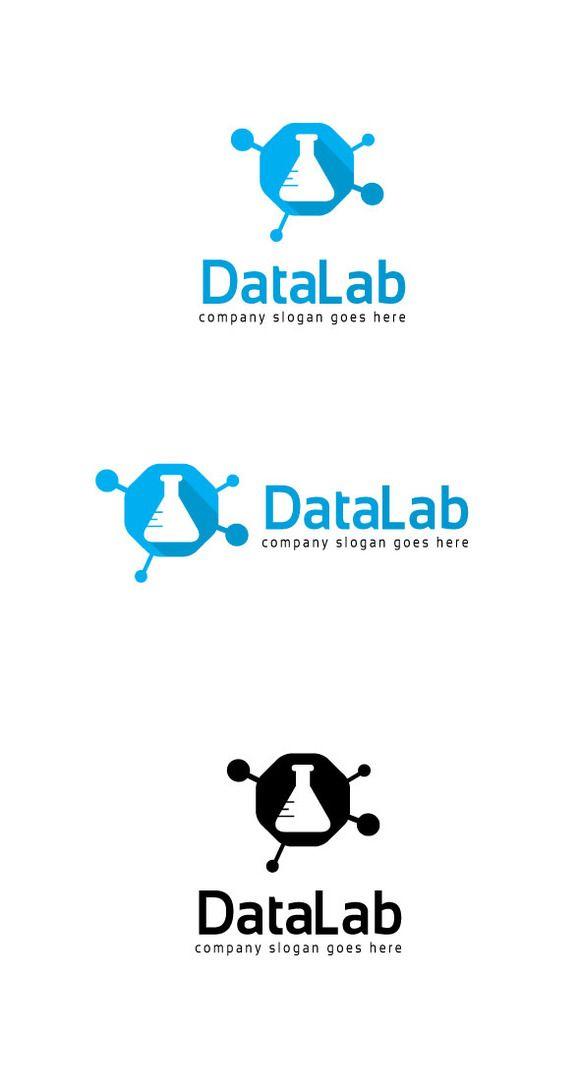 Data Lab Logo  @creativework247