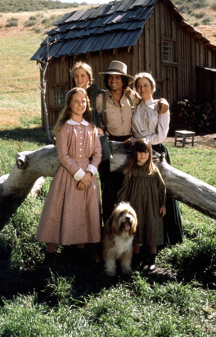 Little House on the Prairie: The Ingalls Family, Mary, Laura, Charles, Caroline, Carrie, and Jack.
