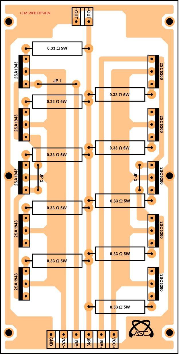 Amplificador Stereo De 1000w 1000watts Power Amplifier Board Hobby Circuit Diagrams 143 Centmetros X 75 83 Driver Zener
