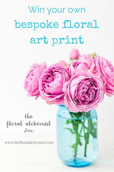 Hop over to Facebook to enter The Floral Alchemist Giveaway to win your own exclusively bespoke floral art print (worth £313) crafted to evoke the spirit of your desires. You'll be inspired to follow your passion, connect to your inner and true self, listen to your intuition and manifest a life as full and rich as your core desires are.