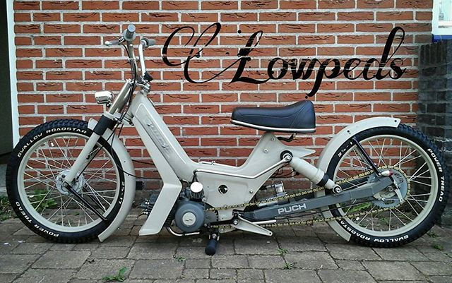 Check out Joost Schouten his Puch Maxi 'Lowped'  #puchshop #puch #puchmaxi #mofa #moped #mopeds #mopedlife #mopedarmy #bromfiets #featuredpuch #puchtuning #puchmaxiS #mopedsofinsta #puchxclub #puchforum #puchparts #puchtuning #puchclub #mofapost