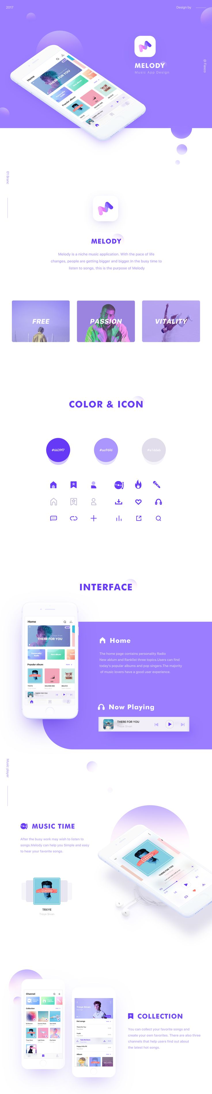 "다음 @Behance 프로젝트 확인: ""Melody Music app"" https://www.behance.net/gallery/56387011/Melody-Music-app"
