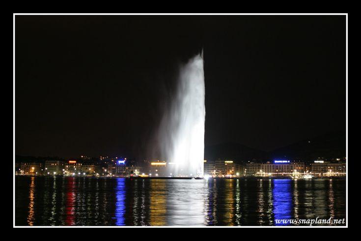 Jet d'eau, Geneve