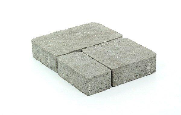 Napoli-kivet, profiloitu, harmaa