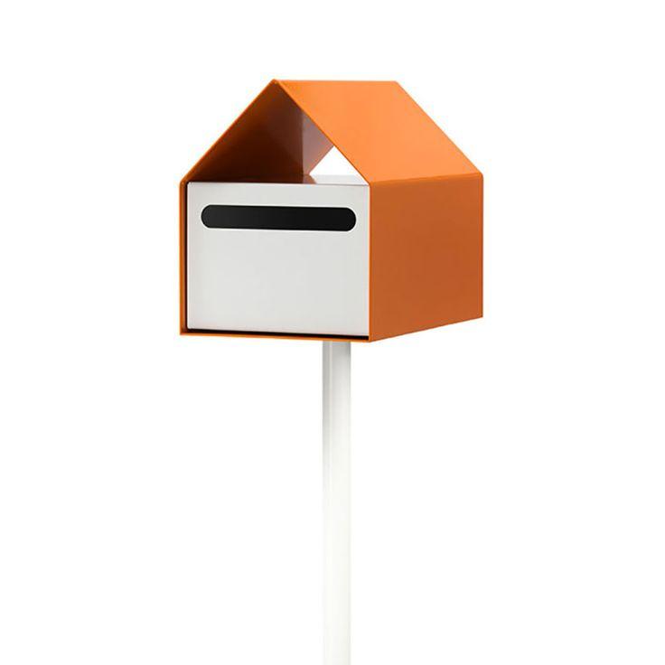 top3 by design - arko design - arko letterbox orange + white
