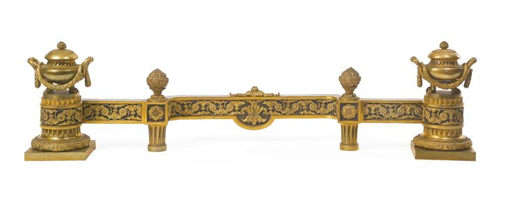 A Louis XVI style gilt and patinated bronze fender France, late 19th century   Lot   Sotheby's