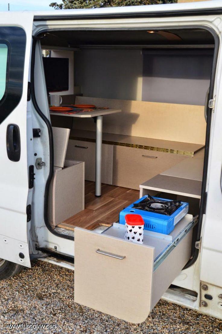 Las 25 mejores ideas sobre campistas de casa rodante en - Muebles para camperizar furgonetas ...
